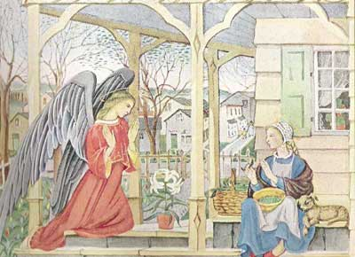 Annunciation by Ford